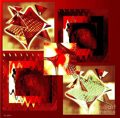 Digital Art - Abstract Gallery #4 by Iris Gelbart