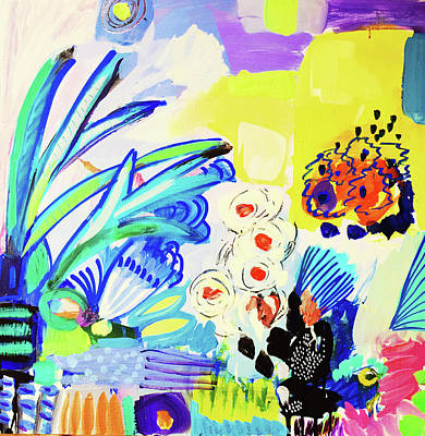 Painting - Abstract Garden by Amara Dacer