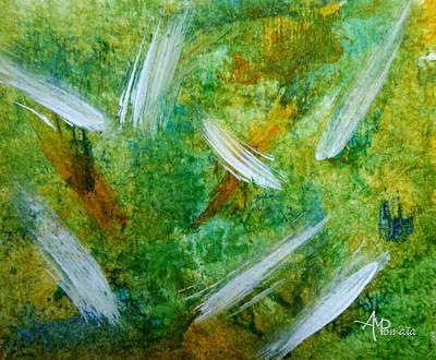 Abstract Garden Art Print by Angeles M Pomata
