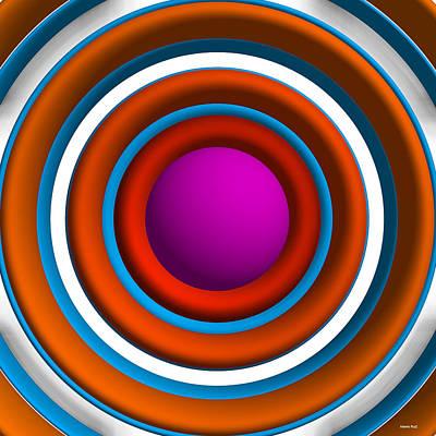 Abstract Digital Art - Abstract Geometric 2 by Alberto  RuiZ