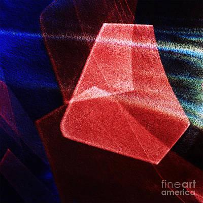 Abstract Geometry Art Print by Elena Lir-Rachkovskaya