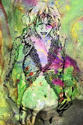 Digital Art - Abstract Girl 01 by Jakub DK