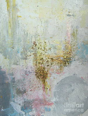 Painting - Abstract Gold by France Laliberte