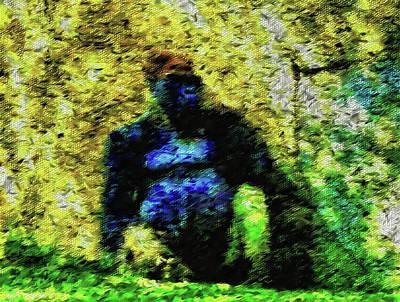Photograph - Abstract Gorilla 10 by Kristalin Davis