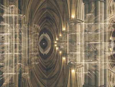 Photograph - Abstract Gothic Art by Jacek Wojnarowski