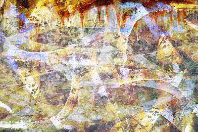 Digital Art - Abstract Graffiti 22 by Steve Ball