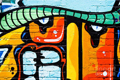 Vandalize Painting - Abstract Graffiti Face by Yurix Sardinelly