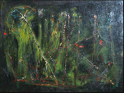 Painting - Abstract Green by Zeke Nord