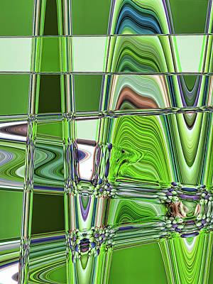 Photograph - Abstract Greens by Tatiana Travelways