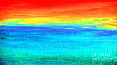 Painting - Abstract Hl742116 by Mas Art Studio