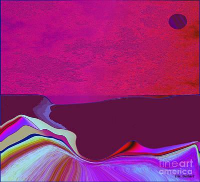 Digital Art - Abstract Homeland by Iris Gelbart
