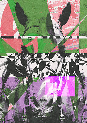 Digital Art - Abstract Horse by IamLoudness Studio