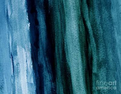 Abstract Hues Art Print by Marsha Heiken