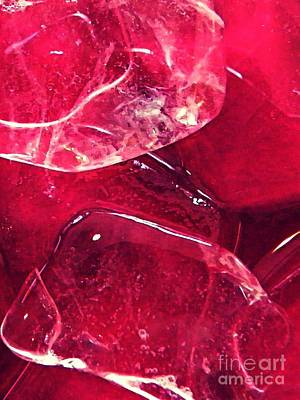 Photograph - Abstract Ice 12 by Sarah Loft