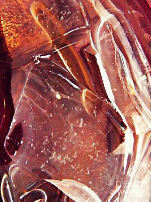 Photograph - Abstract Ice 14 by Sarah Loft