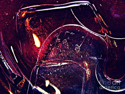 Photograph - Abstract Ice 2 by Sarah Loft