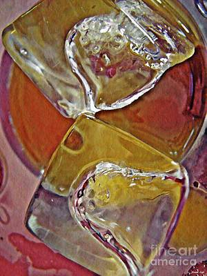 Photograph - Abstract Ice 28 by Sarah Loft