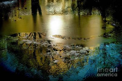 Abstract Ice Art Print