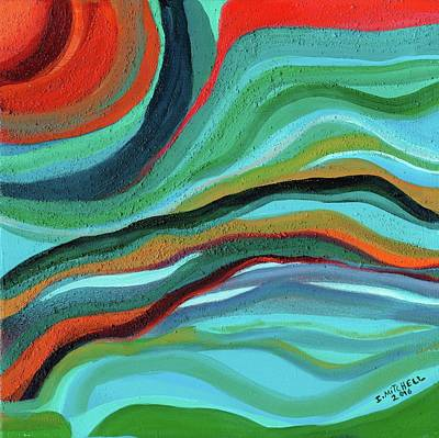 Painting - Stormy Sunset by Ida Mitchell