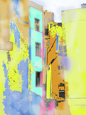 Abstract  Images Of Urban Landscape Series #2 Art Print