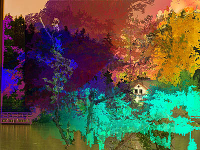 Abstract  Images Of Urban Landscape Series #4 Art Print