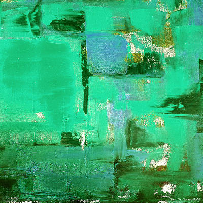Royalty-Free and Rights-Managed Images - Abstract in Green by Gina De Gorna