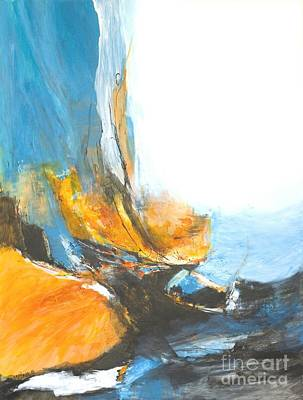 Painting - Abstract In Motion by Glory Wood