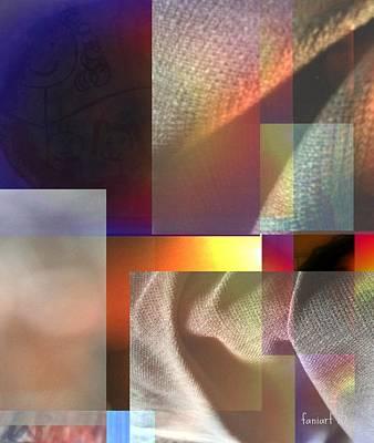 Yesayah Mixed Media - Abstract In Part F by Fania Simon