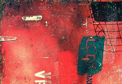 Photograph - Abstract In Red by Wendell Lowe