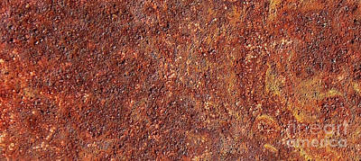 Photograph - Abstract In The Rust by D Hackett