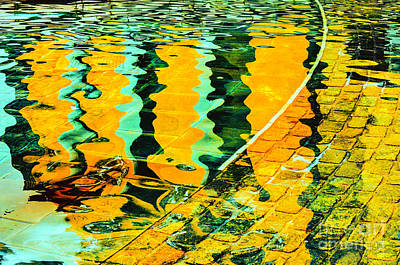 Photograph - Abstract In Water by Frances Ann Hattier