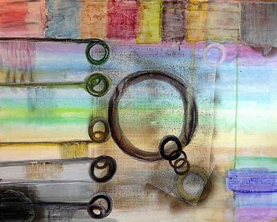 Mixed Media - Abstract Ink by Windy Savarese