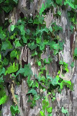 Painting - Abstract Ivy by Tito