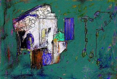 Digital Art - Abstract July 25 2015 by Jim Vance