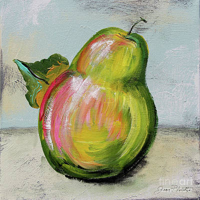 Painting - Abstract Kitchen Fruit 4 by Jean Plout