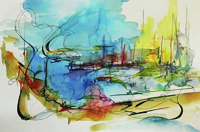 Abstract Landscape #1 Art Print