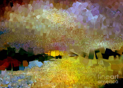 Digital Art - Abstract Landscape 1520 by Rafael Salazar