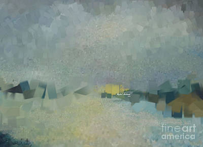 Digital Art - Abstract Landscape 1521 by Rafael Salazar