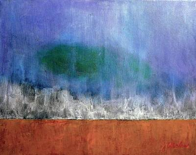 Painting - Abstract Landscape #313 by Jim Whalen