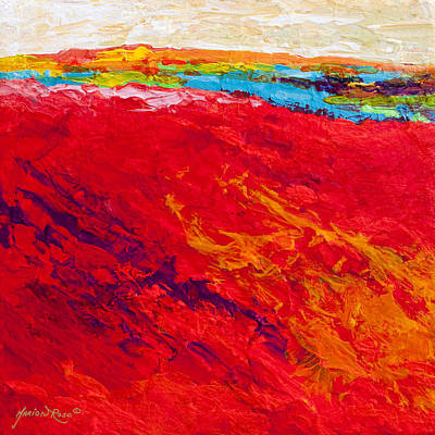 Painting - Abstract Landscape 4 by Marion Rose