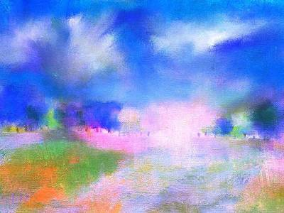 Digital Art - Abstract Landscape 6 by Frank Bright