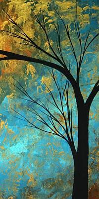Abstract Landscape Art Passing Beauty 3 Of 5 Art Print