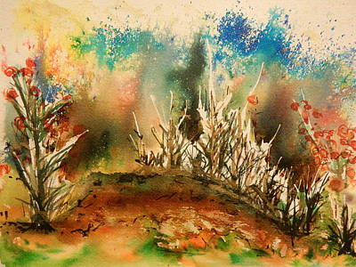 Abstract Landscape Art Print by Betty-Anne McDonald