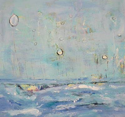 Painting - Abstract Landscape by Francine Ethier
