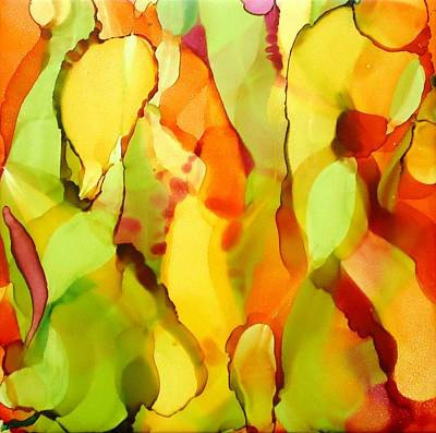 Painting - Abstract by Laurie Anderson