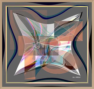 Digital Art - Abstract Life by Iris Gelbart
