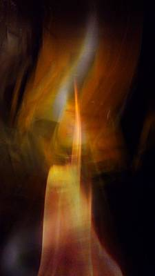 Abstract Light Art Print