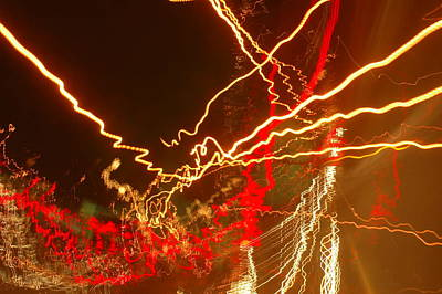 Spock Photograph - Abstract Lights by Michael French