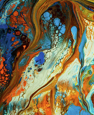 Photograph - Liquid Abstract by Lilia D