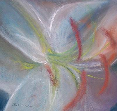 Abstract Lily Art Print by Jackie Bush-Turner